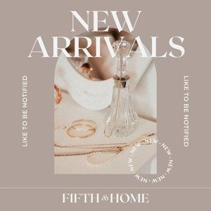 ❤️ THANK YOU for joining the NEW ARRIVALS list! ❤️